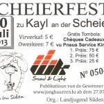 Scheierfest 2013