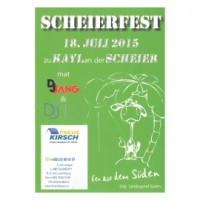 Scheierfest 2015 - 2